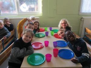 Petit déjeuner 3ème maternelle et 1ère primaire (2017)